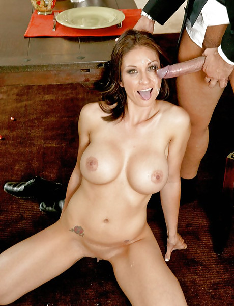 Classy MILF bitch takes her cocktail dress off and gets her fanny eaten out.
