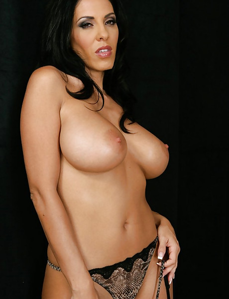 Seductive busty MILF bitch takes her slutty dress off and gets roughly banged