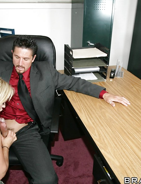 Slutty office whores take their clothes off and fuck their boss in sexy lingerie.