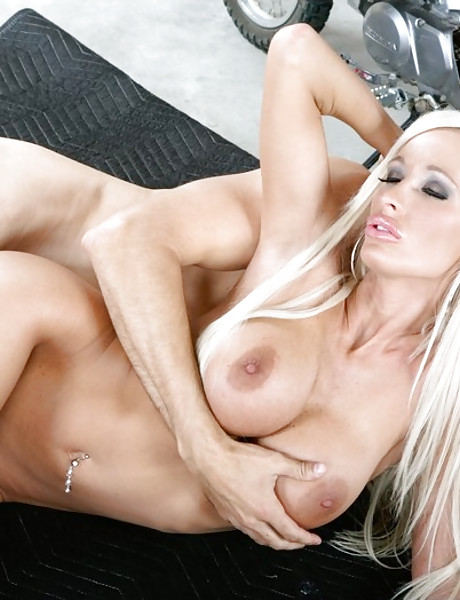 Smoking hot blonde angel takes her clothes off and jumps on hard fat boner.