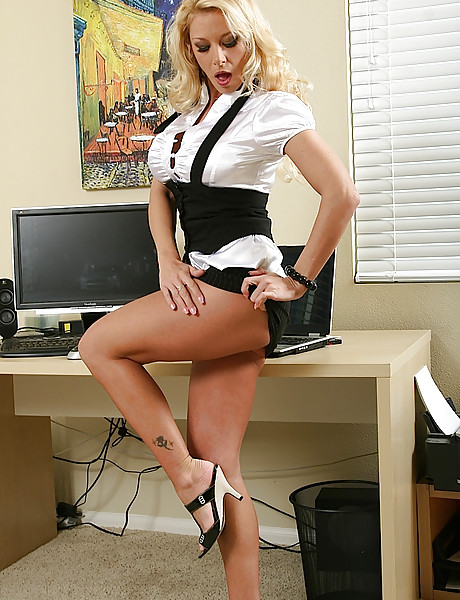 naked at work Secretary strips