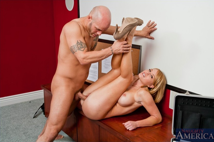 Busty milf with hairy hungry cunt