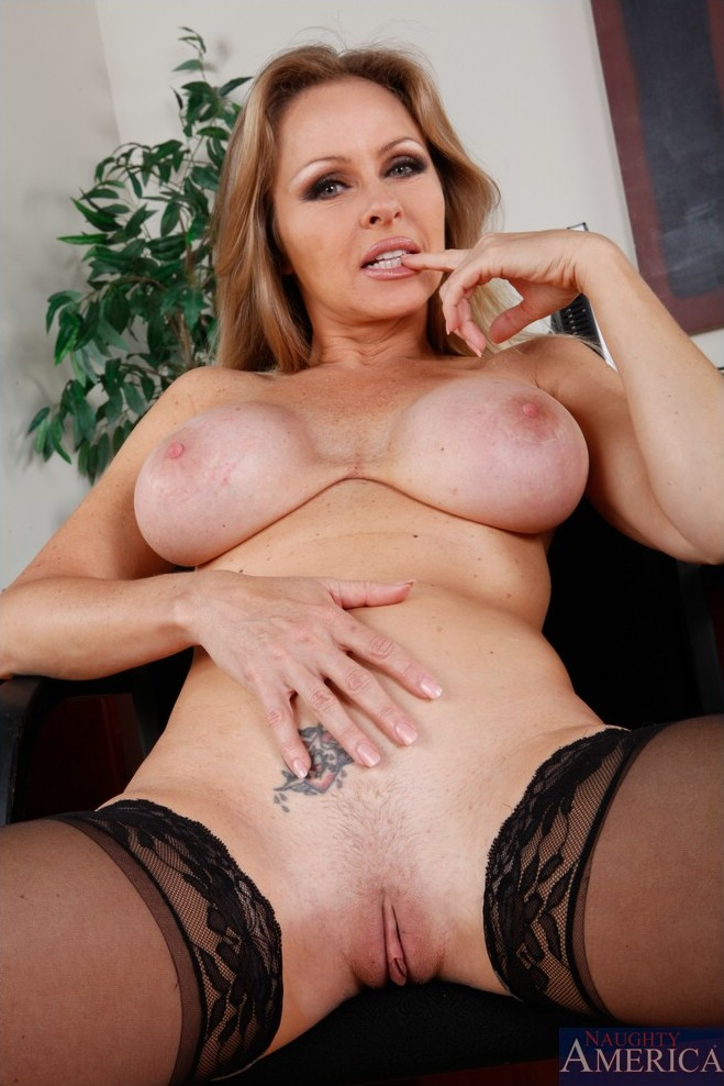 Breasted lady big mature