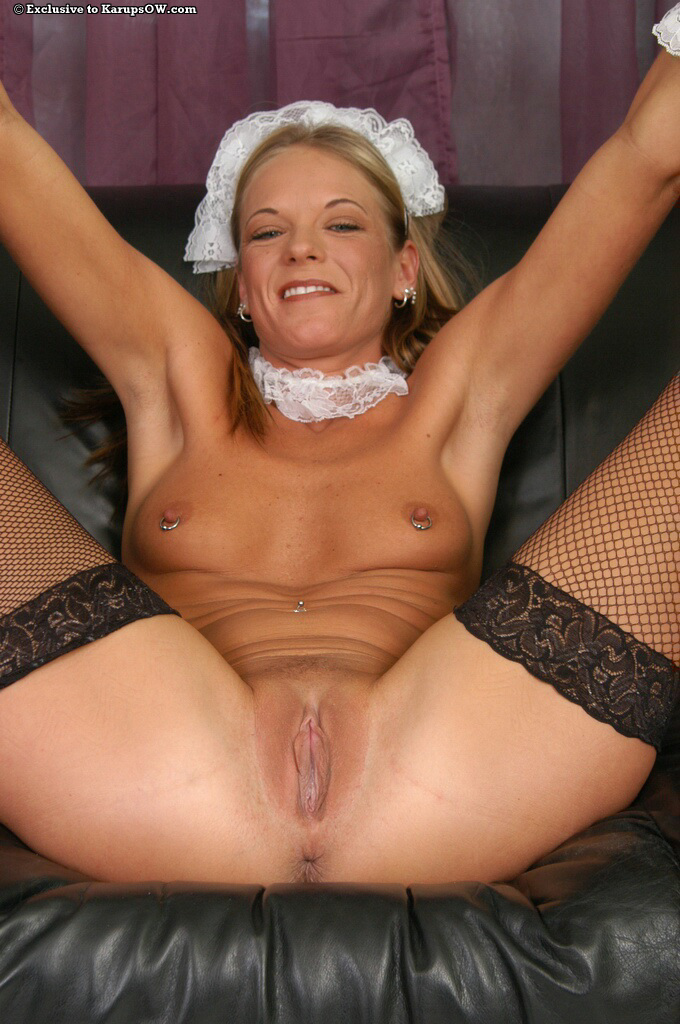 French maid hot pussy — img 5