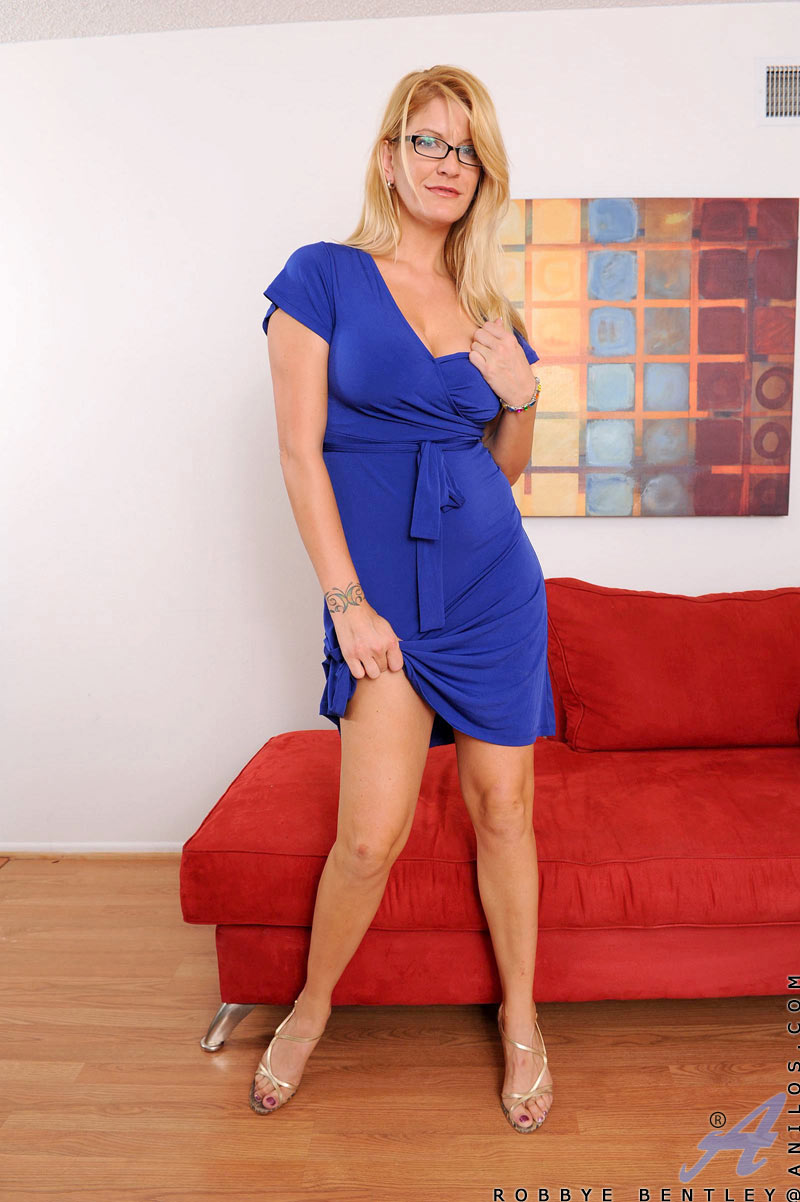 A dress images blonde porn blue in