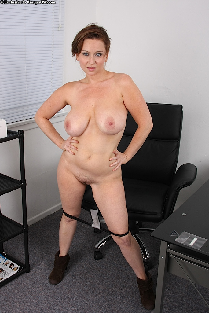 Sexy secretary big tits this