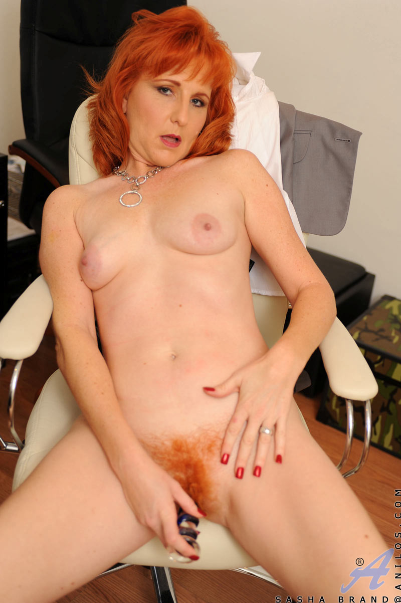 Nasty redhead shows her awesome body 7