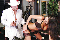 Kortney Kane screams and moans while she gets her tight wet muff drilled roughly from behind