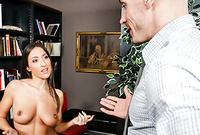 Lizz Taylor takes all of her clothes for the camera and pleases her handsome lover with an amazing warm blowjob