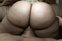 Bootyliscious takes her sexy green panties off and gets her hungry vagina nailed by big throbbing dong