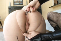Adrianna Nicole and Lorelei Lee strip their classy lingerie together and have intensive dyke sex