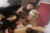 Jenna Jameson takes all of her clothes and has amazing passionate crazy sex