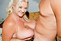 Linda goes down on her knees and pleases her handsome lover with an amazing passionate blowjob