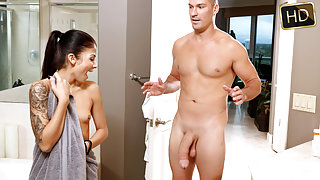 Sadie Pop in Shower Seduction - TeamSkeet