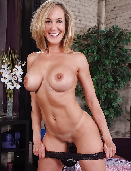 Milf black panties