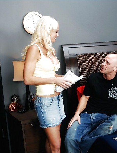 Daddy girl blond tits