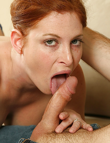Ginger shaved pussy