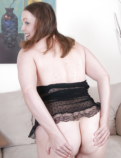 Sexy curvy milf with big saggy boobs stripping and teasing with her soft body