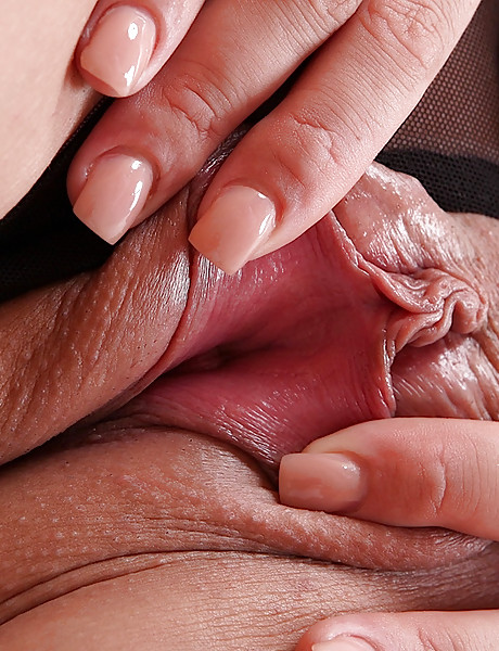 Hot and horny blond MILF gets rid of her undies and shows her big tits and pussy