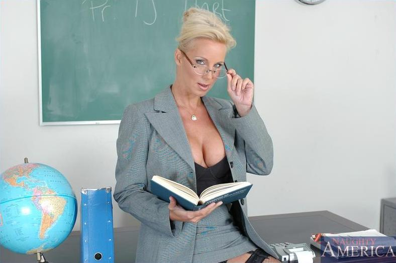 Milf teacher big tits