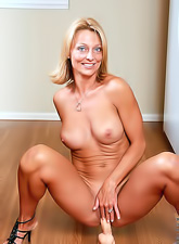 Housework is not easy, especially if you are a hot blond who gets horny easily