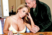 Nikki Sexx takes her panties off and gets her hungry wet pussy drilled from behind
