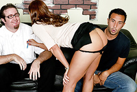 Sky Taylor takes her classy skirt off and gets screwed by her handsome lover