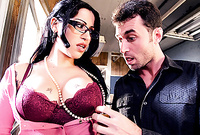 Daisy Cruz takes her classy outfit off and then fucks with her handsome good looking boyfriend