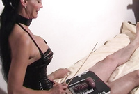 Carmen Rivera takes her kinky black lingrie off and has amazing sex with her horny, sumbissive lover