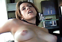 Sinderella shows us her amazing big jugs and then teases us with her amazing round breasts before the camera