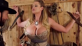 Kelly Madison is a busty chick enjoying a great cock ride